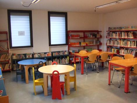 Sala ragazzi biblioteca Usmate