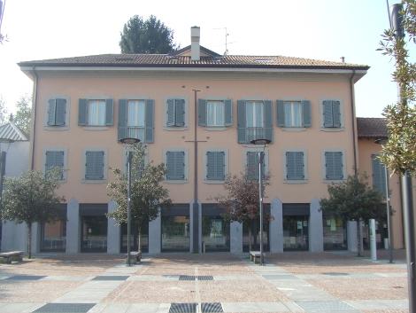 Edificio ristrutturato complesso Villa Borgia