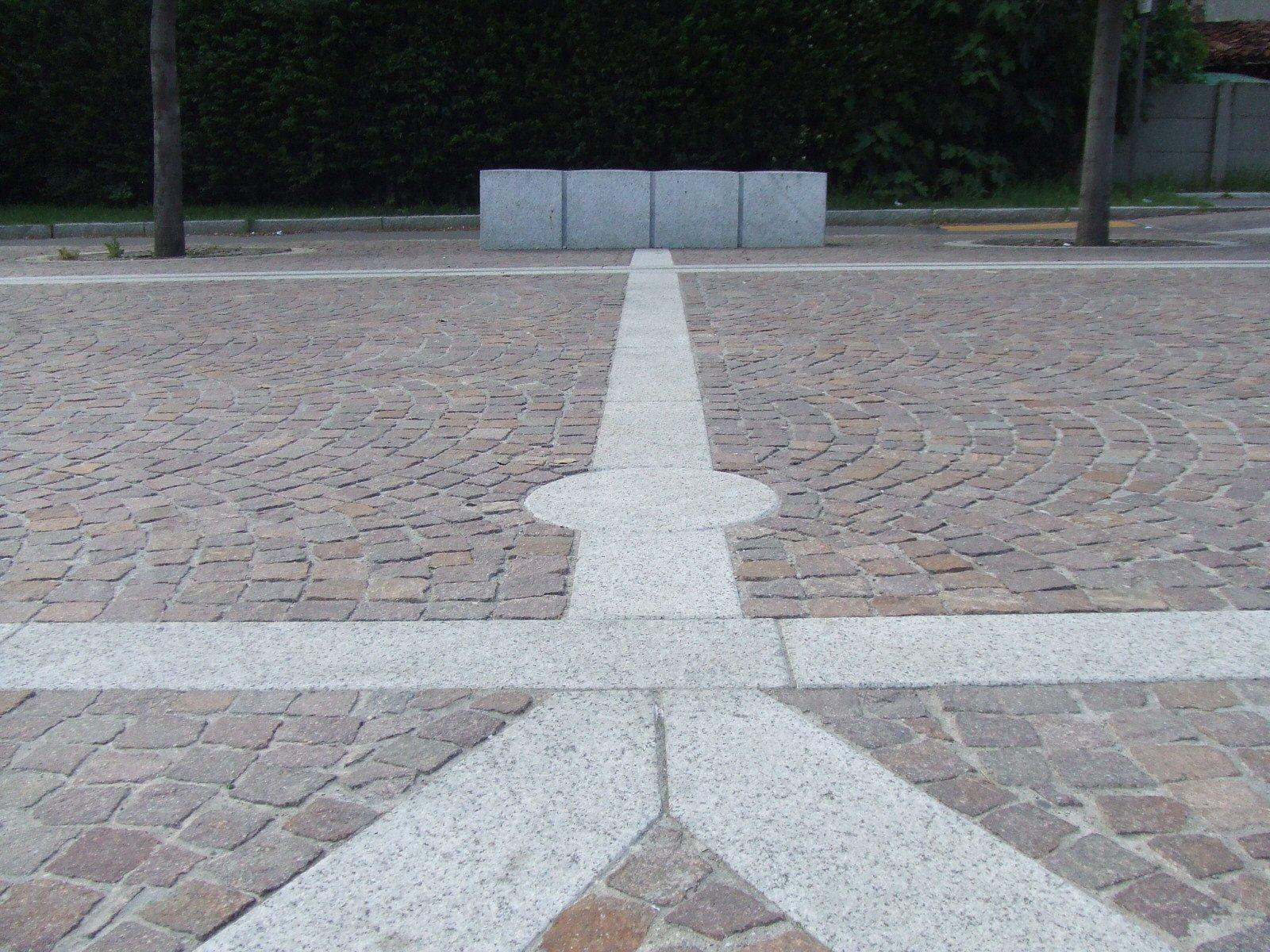 Pavimentazione Piazza della Pace Caponago