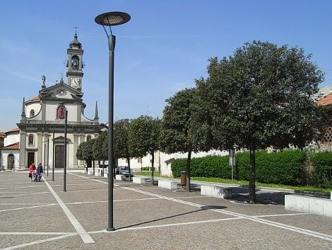 Piazza della Pace Caponago